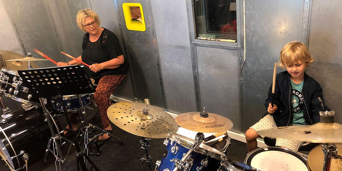 De Scheveningse Muziekschuur - Oefenruimte-Studio